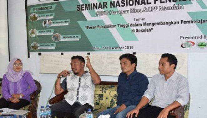 STKIP Harapan Bima Bersama LPP Mandala Menggelar Semnas Pendidikan