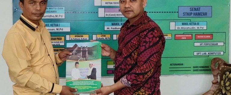 """Perjanjian Kerjasama tentang """"Tridharma Perguruan Tinggi"""" antara STKIP Harapan Bima dengan STKIP Hamzar Lombok Utara"""